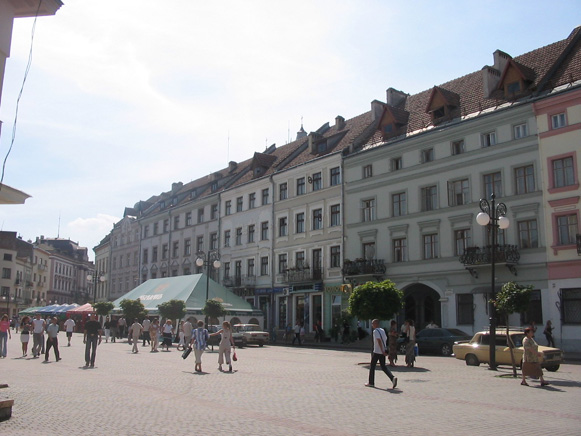 Image - The Market Square in Ivano-Frankivsk.