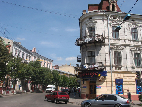 Image - Ivano-Frankivsk: city center.