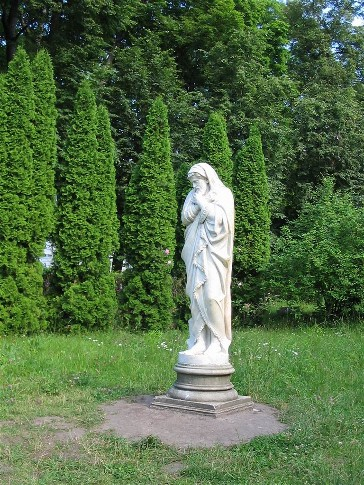 Image - The Kachanivka park (sculpture: Winter).