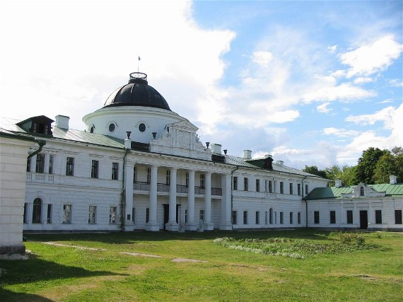 Image - The Kachanivka palace (18th century).