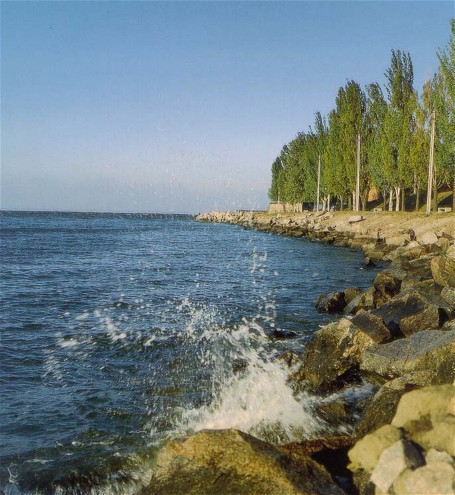Image - The Kakhovka Reservoir near Nikopol.