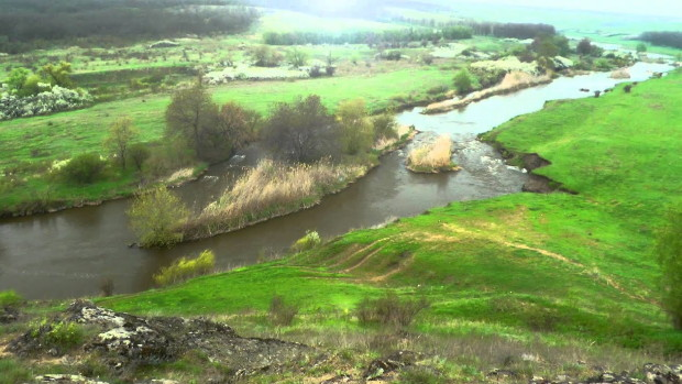 Image - The Kalmiius River in its upper reaches.
