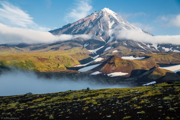 Image - The Kamchatka Peninsula in the Far East.