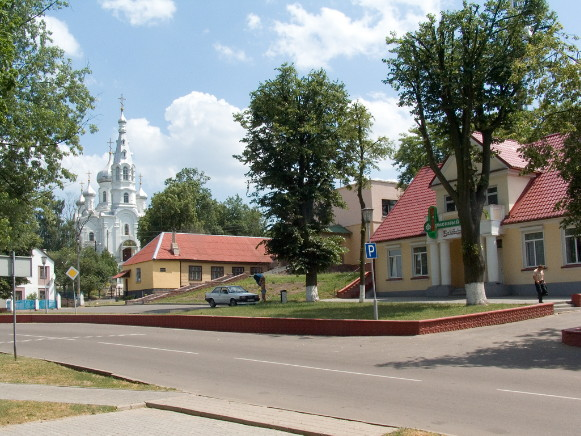 Image - Kamianets, Brest oblast, Belarus (city center).