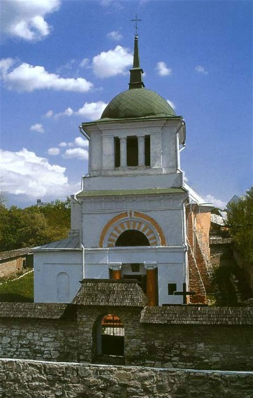 Image -- SS Peter and Paul Ukrainian Orthodox Church (15th-16th century) in Kamianets-Podilskyi.