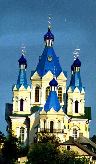 Image - Saint George's Orthodox Church in Kamianets-Podilskyi.