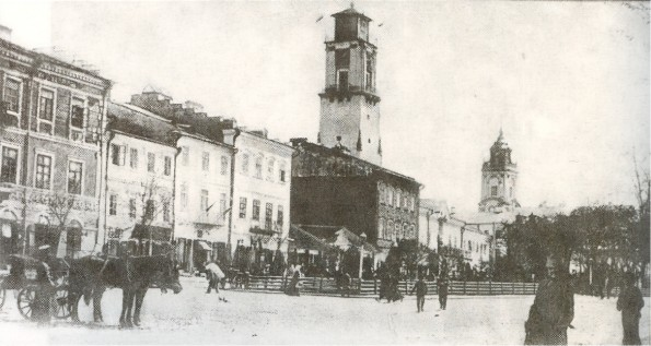 Image - Kamianets-Podilskyi: central square (early 20th century photo).