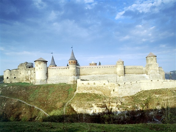 Image - Panorama of the Kamianets-Podilskyi fortress.
