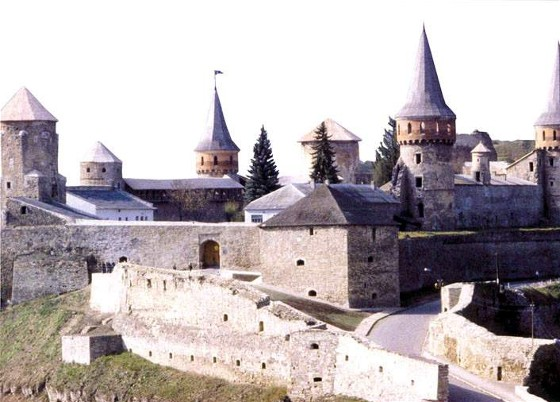 Image - Panorama of the Kamianets-Podilskyi old fortress.