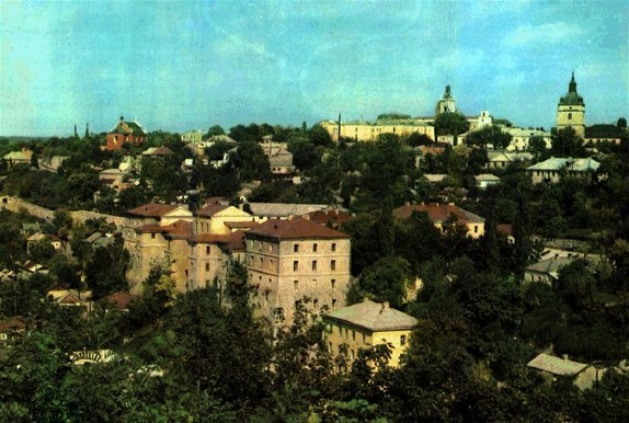 Image - Kamianets-Podilskyi: Panorama of the old Armenian quarter.