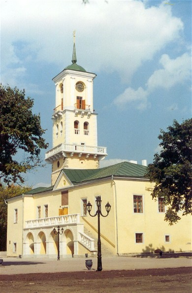 Image - The town hall in Kamianets-Podilskyi.