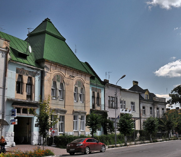 Image - Kamianka-Buzka: town center.
