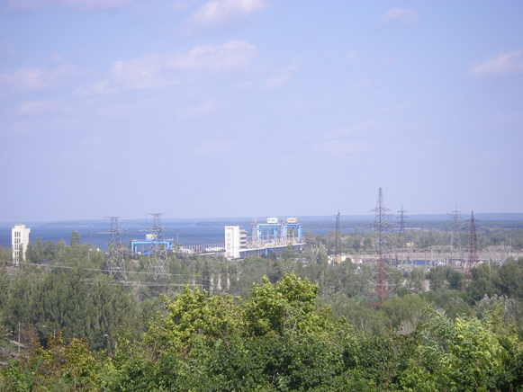 Image - The Kaniv Hydroelectric Station.