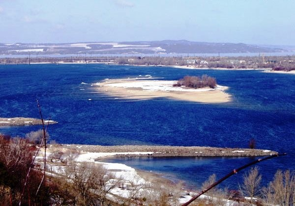Image - The Kaniv Reservoir on the Dnieper River.