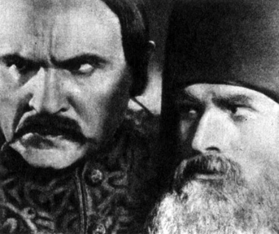 Image - Scene from the film Koliivshchyna (1933) directed by Ivan Kavaleridze.
