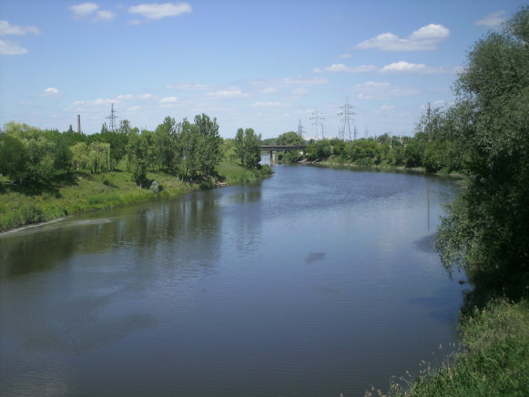 Image - The Kazennyi Torest River near Sloviansk.
