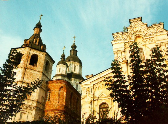 Image -- Kharkiv: the Cathedral of the Holy Protectress (1689).