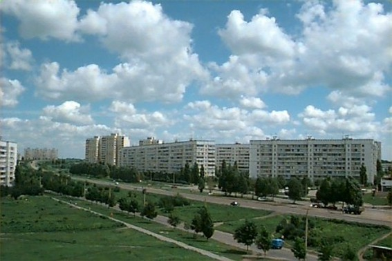 Image -- A view of Rohan on the outskirts of Kharkiv.