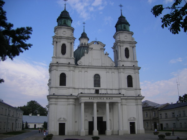 Image - Kholm (Chelm): Cathedral of the Holy Mother of God (originally built in the 13th century; built anew in 1739-57).