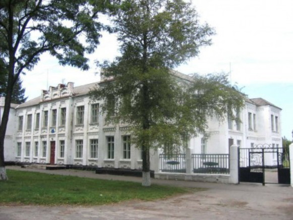 Image - The secondary school No. 1 in Khorol, Poltava oblast.