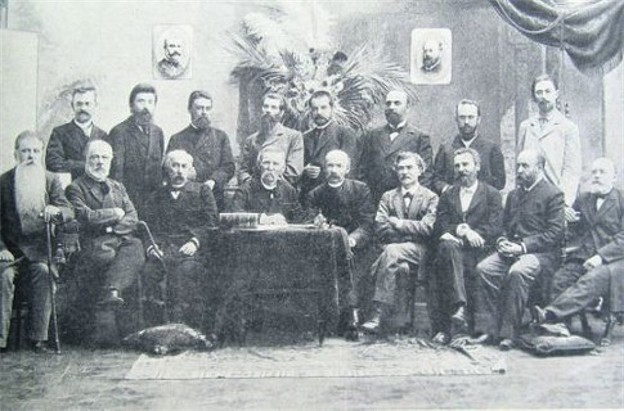 Image - The Kievskaia Starina editorial board (1890s photo).