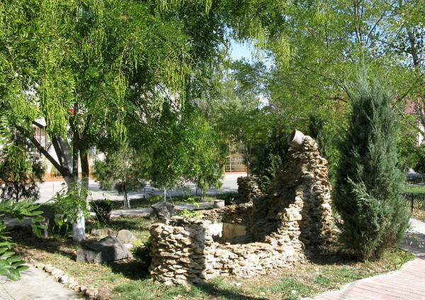 Image - Kiliia fortress ruins in the city center,