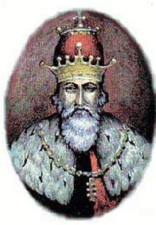 Image - A painting of King Danylo Romanovych.