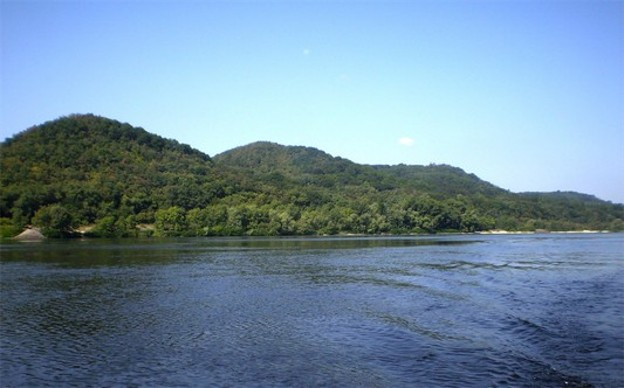 Image - The Kniazha Hora in the Kaniv Hills (view from the Dnieper River).