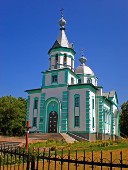Image - Kobeliaky: Orthodox church.