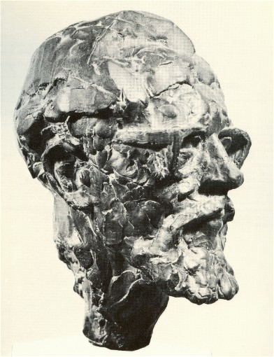 Image - Eugene Kocis: Sculpture of Myron Levytsky.
