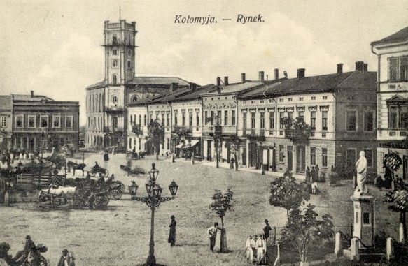 Image - Kolomyia Market Square (early 1900s).
