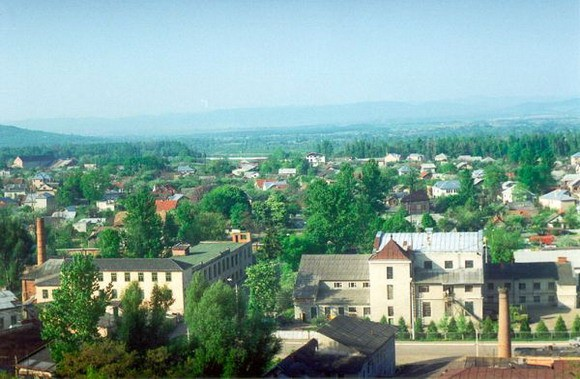 Image - A view of Kolomyia.
