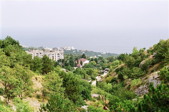 Image - Koreiz in the Crimea.