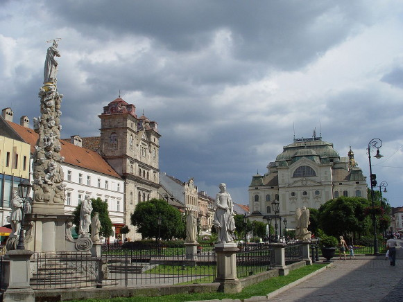 Image - Kosice: city center.