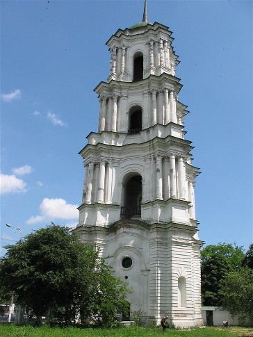 Image - Kozelets: the Cathedral of the Nativity of the Mother of God, Bell Tower.