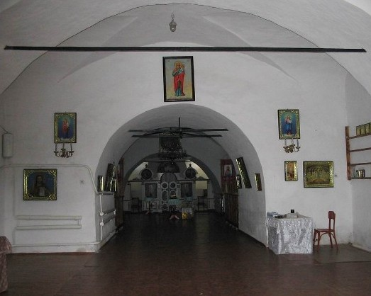 Image - Kozelets: the Cathedral of the Nativity of the Mother of God, an underground chapel.