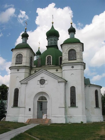 Image -- The Church of the Assumption (1874) in Kozelets.