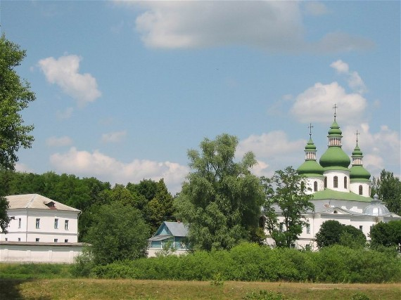 Image - Saint George's Monastery (1770) in Kozelets.