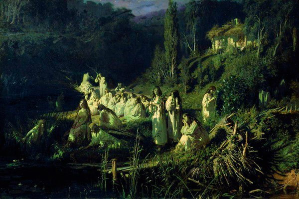 Image - Ivan Kramskoi: Ruslaklas. May Night (1871).