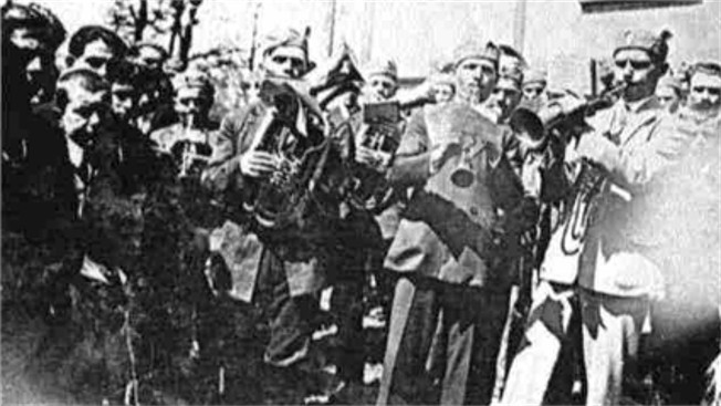 Image - The Sokil marching band in the village of Krasne, Lviv region (1929).