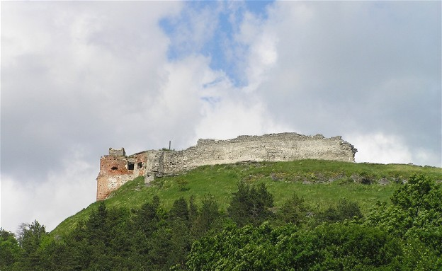 Image - Ruins of the Kremianets castle (13th-17th centuries).