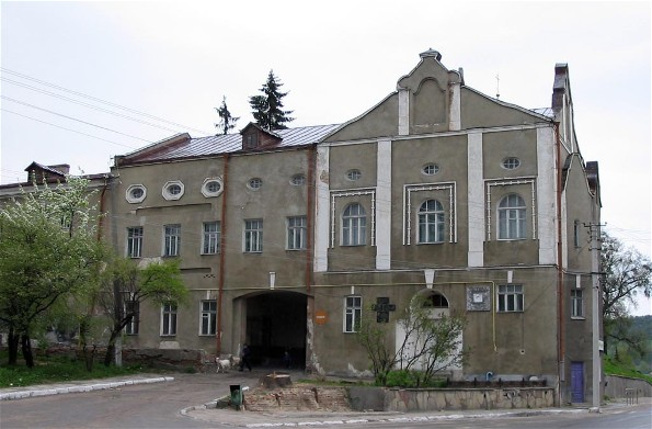 Image - One of the buildings of the former theological seminary in Kremianets.