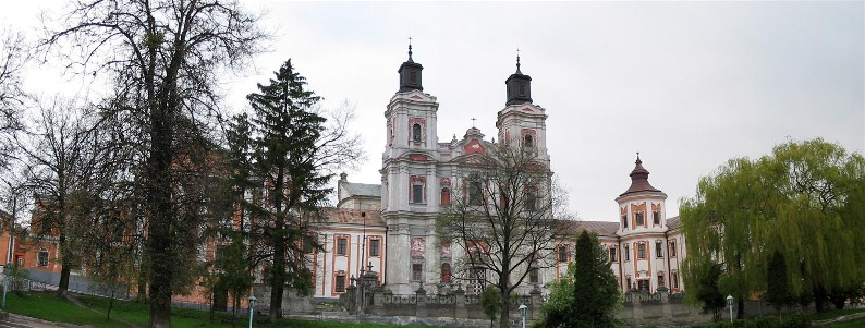 Image - The Jesuit building complex (built in 1731-43) which housed the Kremianets Lyceum.