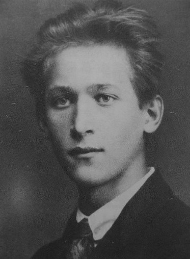 Image - Ivan Krushelnytsky as a student at the University of Vienna (mid 1920s).