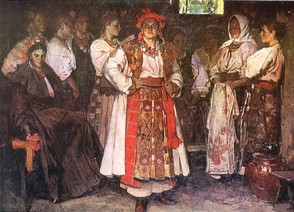 Image - Fedir Krychevsky: The Bride (1910).