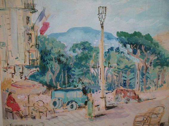 Image - Mykola Krychevsky: View of Paris.