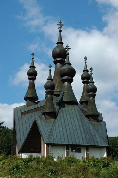 Image - The Ukrianian Orthodox Church of Saint Volodymyr in Krynytsia (Krynica).