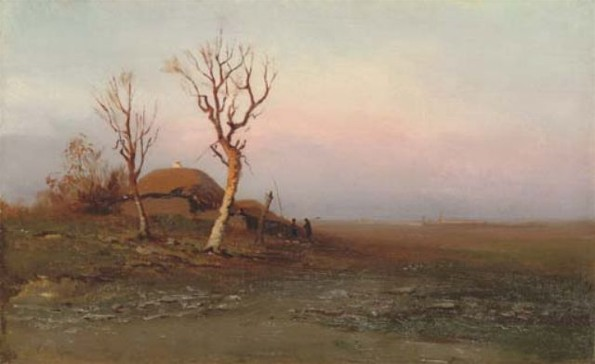 Image - Arkhyp Kuindzhi: Early Evening (1881).