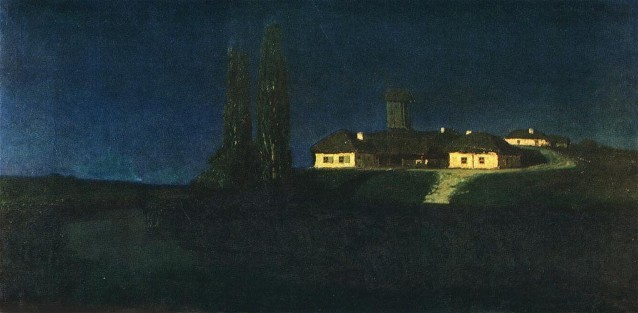 Image - Arkhyp Kuindzhi: Ukrainian Night (1876).