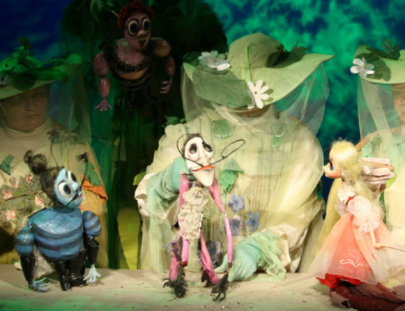 Image -- A performance at the Kyiv Puppet Theater.